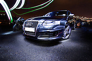 Automotive  Audi RS6 with Audi RS4 and Yamaha R1