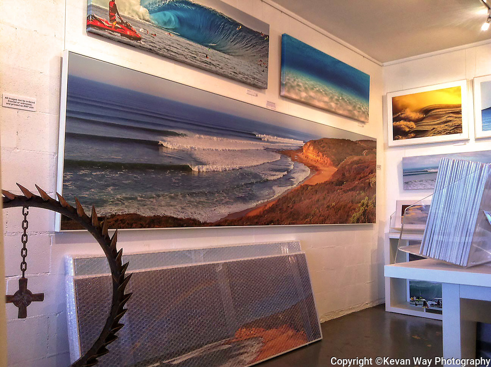 spring swell at Bells_3.5Mx90cm mural<br />