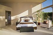 Sunlit Palm Springs bedroom