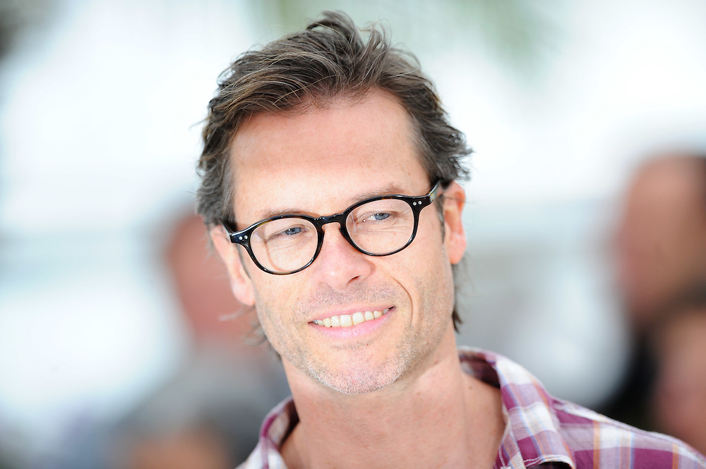Australian actor Guy Pearce poses during the photocall of 'Lawless' presented in competition at the 65th Cannes film festival on May 19, 2012 in Cannes..Photo Ki Price
