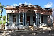Building in San Diego de los Banos, Pinar del Rio, Cuba.