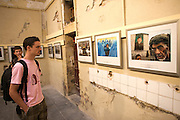 """Photo exhibitions at Couvent Sainte Claire. """"Afghanistan, a fragile peace"""" by Paula Bronstein."""