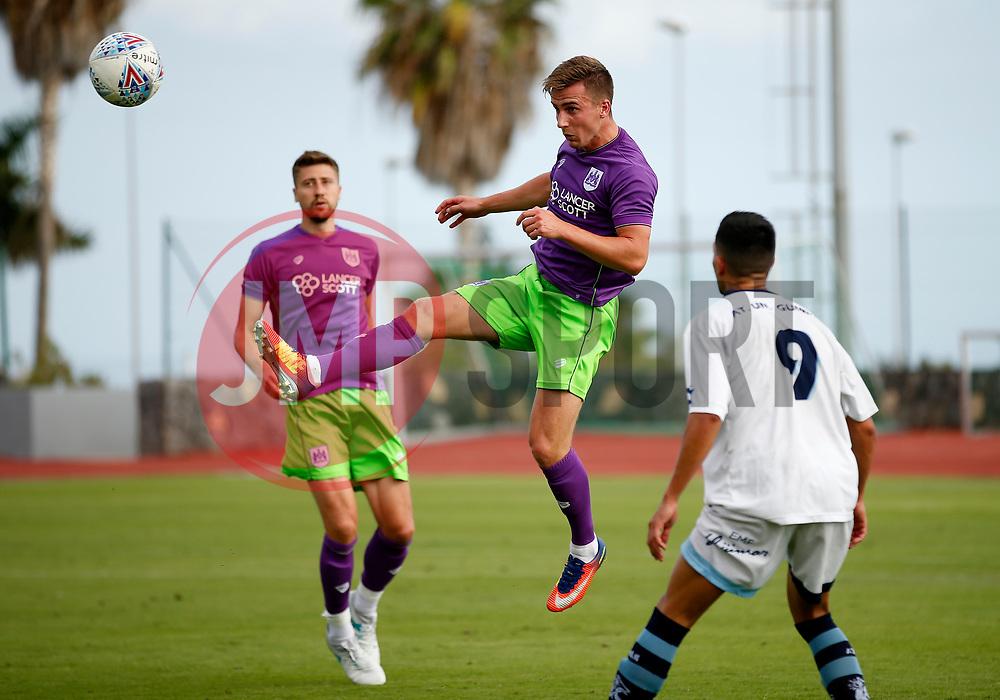 Joe Bryan of Bristol City - Mandatory by-line: Matt McNulty/JMP - 22/07/2017 - FOOTBALL - Tenerife Top Training - Costa Adeje, Tenerife - Bristol City v Atletico Union Guimar  - Pre-Season Friendly