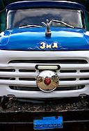 Russian truck in Rodas, Cienfuegos, Cuba.