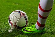 ALKMAAR - 16-02-2017, AZ - Olympique Lyon, AFAS Stadion, bal