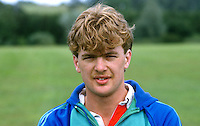 Jim Heggarty, footballer, Larne FC, N Ireland, UK, 19840088JH..Copyright Image from Victor Patterson, 54 Dorchester Park, Belfast, UK, BT9 6RJ..Tel: +44 28 9066 1296.Mob: +44 7802 353836.Voicemail +44 20 8816 7153.Skype: victorpattersonbelfast.Email: victorpatterson@me.com.Email: victorpatterson@ireland.com (back-up)..IMPORTANT: If you wish to use this image or any other of my images please go to www.victorpatterson.com and click on the Terms & Conditions. Then contact me by email or phone with the reference number(s) of the image(s) concerned.