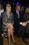 Ivana Trump and Fawaz Gruusi. Zuhair Murad couture collection. Louvre. Paris.  25  January 2006.  ONE TIME USE ONLY - DO NOT ARCHIVE  © Copyright Photograph by Dafydd Jones 66 Stockwell Park Rd. London SW9 0DA Tel 020 7733 0108 www.dafjones.com