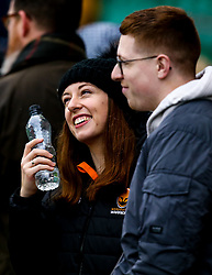 Worcester Warriors fans at Northampton Saints - Mandatory by-line: Robbie Stephenson/JMP - 26/10/2019 - RUGBY - Franklin's Gardens - Northampton, England - Northampton Saints v Worcester Warriors - Gallagher Premiership Rugby