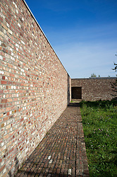 Siza Pavilion at Raketenstation a former rocket station at Museum Insel at Hombroich at Neuss in Germany