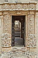 Ranakpur Jain Temple Doorway, Rajasthan India