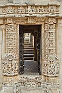 Ranakpur Jain Temple Doorway, Rajasthan India