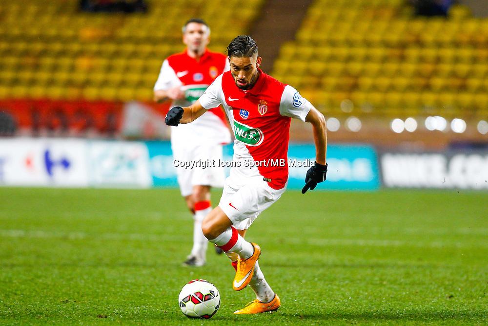 Yannick Ferreira Carrasco  - 21.01.2015 - Monaco / Evian Thonon   - Coupe de France 2014/2015<br /> Photo : Sebastien Nogier / Icon Sport