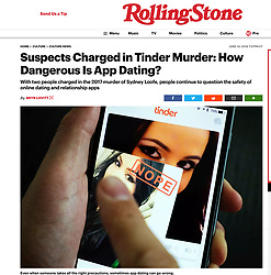 Rolling Stone; Online dating