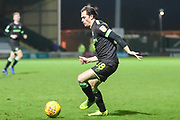 Forest Green Rovers Theo Archibald(18) during the EFL Sky Bet League 2 match between Yeovil Town and Forest Green Rovers at Huish Park, Yeovil, England on 8 December 2018.