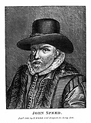 John Speed (1542-1629) English cartographer and historian. Engraving