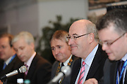 """Minister Phil Hogan at the Water Services Training Group 15th Annual Conference entitled """" Water Services in Ireland-Organisational Modernisation and New Challenges"""". Photo:Andrew Downes. Photp issued with compliments, no reproduction fee."""