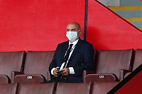 Football - 2019 / 2020 Premier League - Sheffield United vs Tottenham Hotspur<br /> Tottenham Hotspur chairmen Daniel Levy in the stands, at Bramall Lane.<br /> <br /> COLORSPORT/PAUL GREENWOOD