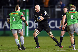 Matt Garvey of Bath Rugby in possession - Mandatory byline: Patrick Khachfe/JMP - 07966 386802 - 10/01/2020 - RUGBY UNION - The Recreation Ground - Bath, England - Bath Rugby v Harlequins - Heineken Champions Cup