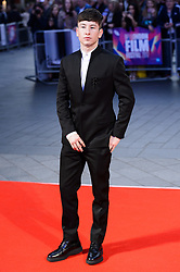 October 12, 2017 - London, London, UK - Barry Keogh attends the UK film premiere of Killing Of A Sacred Deer showing as part of the 51st BFI London Film Festival. (Credit Image: © Ray Tang via ZUMA Press)