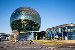 EXPO 2017 at IIHF World Championship DIV. I Group A Kazakhstan 2019, on May 4, 2019 in Barys Arena, Nur-Sultan, Kazakhstan. Photo by Matic Klansek Velej / Sportida