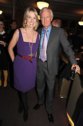GALEN & HILARY WESTON at a party to celebrate the publication of 'Past Imperfect' by Julian Fellowes held at Cadogan Hall, 5 Sloane Terrace, London SW1 on 4th November 2008.