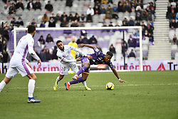 February 10, 2019 - Toulouse, France - Tristan Dingome (sr) vs Iseka Leya  (Credit Image: © Panoramic via ZUMA Press)