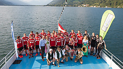 17.07.2014, Alois Latini Stadion, Zell am See, AUT, Bayer 04 Leverkusen Trainingslager, im Bild Teamfoto // during a Trainingssession of the German Bundesliga Club Bayer 04 Leverkusen at the Alois Latini Stadium, Zell am See, Austria on 2014/07/17. EXPA Pictures © 2014, PhotoCredit: EXPA/ JFK