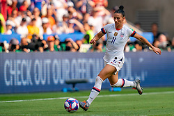 07-07-2019 FRA: Final USA - Netherlands, Lyon<br /> FIFA Women's World Cup France final match between United States of America and Netherlands at Parc Olympique Lyonnais. USA won 2-0 / Ali Krieger #11 of the United States