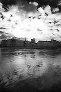 France. Paris. 4th district. Quai de l Hotel de ville.  seine river quay . / le quai de l hotel de ville