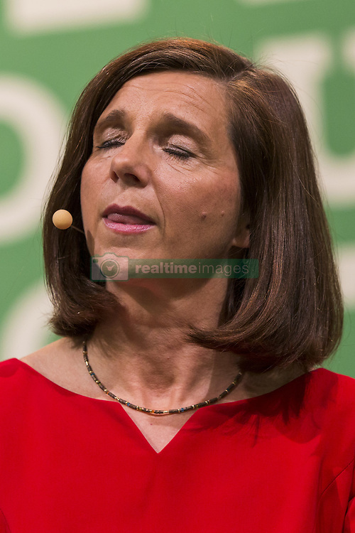 June 17, 2017 - Berlin, Germany - Co-head and leading candidate of the German Green Party (Buendnis 90/Die Gruenen) for the federal elections Katrin Goering-Eckardt speaks during the federal congress at the Velodrom in Berlin, Germany on June 17, 2017. (Credit Image: © Emmanuele Contini/NurPhoto via ZUMA Press)