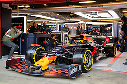 February 18, 2019 - Montmelo, BARCELONA, Spain - Circuit de Barcelona Catalunya, BARCELONA, 18 of february 2019. Verstappen driver of Red Bull during the first day of Test at Circuit de Barcelona Catalunya (Credit Image: © AFP7 via ZUMA Wire)