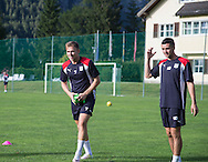 Dundee&rsquo;s Greg Stewart and Michael Duffy -  Dundee FC pre-season training camp in Obertraun, Austria<br /> <br />  - &copy; David Young - www.davidyoungphoto.co.uk - email: davidyoungphoto@gmail.com