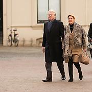 NLD/Utrecht/20140215 - Herdenkingsdienst Els Borst in de Domkerk, Boele Staal en partner