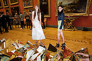 EDIE CAMPBELL; LIBERTY ROSS, Event hosted by the Dutch Ambasador celebrating the achievements of Dutch and Belgian art and fashion. Wallace Collection. London. 15 February 2011.  -DO NOT ARCHIVE-© Copyright Photograph by Dafydd Jones. 248 Clapham Rd. London SW9 0PZ. Tel 0207 820 0771. www.dafjones.com.