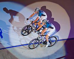 06-01-2012 WIELRENNEN: RABOBANK ZESDAAGSE: ROTTERDAM<br /> (L-R) Iljo Keisse, Niki Terpstra<br /> (c)2012-FotoHoogendoorn.nl / Peter Schalk