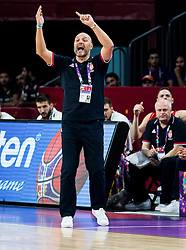 Sasha Aleksandar Djordjevic, head coach of Serbia during basketball match between National Teams of Russia and Serbia at Day 16 in Semifinal of the FIBA EuroBasket 2017 at Sinan Erdem Dome in Istanbul, Turkey on September 15, 2017. Photo by Vid Ponikvar / Sportida