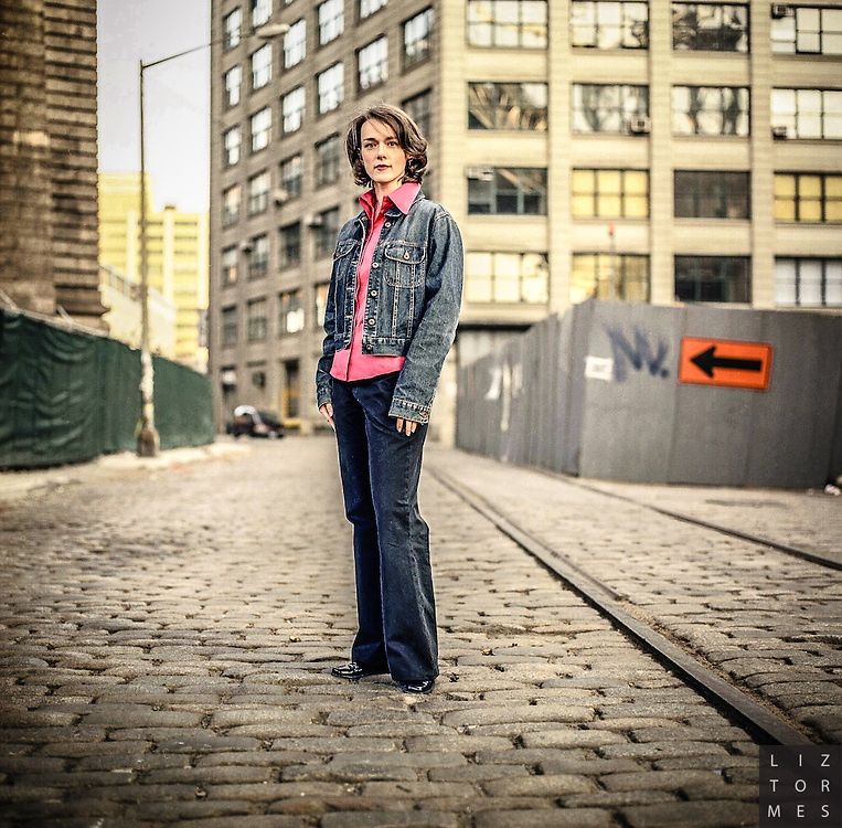 Laura Cantrell in Dumbo, Brooklyn