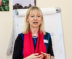 Pictured: Cathy Richards, Lead Clinician opened the session<br /> Today Mental Health Minister Maureen Watt vsiisted the Royal Hospital in Edinburgh to help aunch the online resource aimed at young people in this Eating Disorders Awareness Week, While thee she met two two Beat ambassadors, Constance Barter and Ballari Conner<br /> <br /> Ger Harley | EEm 28 Fbruary 2018