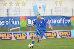 Milan Osterc of Gorica at football match of 35th Round of 1st Slovenian League between NK Hit Gorica and NK Nafta, on May 11, 2010, in Sportni park, Nova Gorica, Slovenia. (Photo by foto-forma/ Sportida)