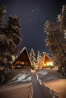 ;;; Astro photography in the back yard., Alberta, Canada, Isobel Springett