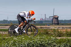 HODAPP Johannes from GERMANY during Men Under 23 Time Trial at 2019 UEC European Road Championships, Alkmaar, The Netherlands, 8 August 2019. <br /> <br /> Photo by Pim Nijland / PelotonPhotos.com <br /> <br /> All photos usage must carry mandatory copyright credit (Peloton Photos | Pim Nijland)