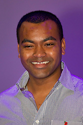 © Licensed to London News Pictures. 14/11/2012. London, UK. British soldier and Victoria Cross winner Johnson Beharry is seen at at the opening of the 2012 Ideal Home at Christmas show at Earl's Court, London, today (14/11/12). The show, running from the 14th to the 18th of November features over 600 exhibitors across 6 sections including; Interiors & Furnishings, Food & Drink, Home Improvements & Outdoor Living, Fashion & Beauty, Technology & Gadgets and Gifts & Decorations. Photo credit: Matt Cetti-Roberts/LNP