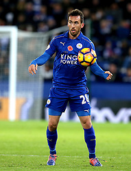 Christian Fuchs of Leicester City - Mandatory by-line: Robbie Stephenson/JMP - 06/11/2016 - FOOTBALL - King Power Stadium - Leicester, England - Leicester City v West Bromwich Albion - Premier League