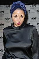 LONDON - JULY 20: Ana Araujo attended The Kensington Club launch, High Street Kensington, London, UK. July 20, 2012. (Photo by Richard Goldschmidt)