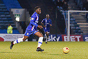 Jermaine McGlashan during the Sky Bet League 1 match between Gillingham and Leyton Orient at the MEMS Priestfield Stadium, Gillingham, England on 15 November 2014.