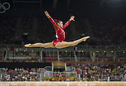 August 15, 2016 - Rio de Janeiro, RJ, Brazil - Lauren Hernandez - USA, on the balance beam during women's individual balance beam final in artistic gymnastics at Olympic Arena.<br /> ©Exclusivepix Media