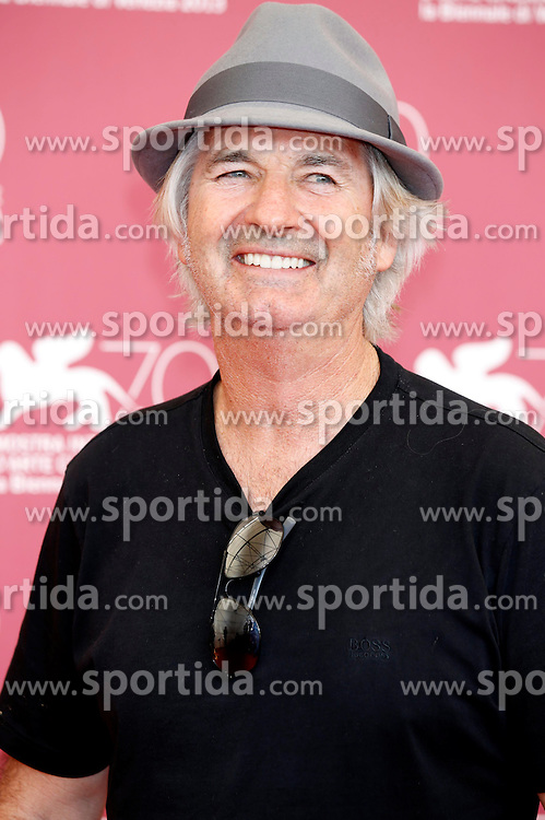 30.08.2013, Canal Grande, Venedig, ITA, La Biennale, 70. Filmfestspiele von Venedig, Wolf Creek 2, im Bild John Jarratt // during a photocall for the movie 'Wolf Creek 2' of the 70th Venice International Film Festival at Canal Grande in Venice, Italy on 2013/08/30. EXPA Pictures &copy; 2013, PhotoCredit: EXPA/ Newspix/ Dave Bedrosian<br /> <br /> ***** ATTENTION - for AUT, SLO, CRO, SRB, BIH, TUR, SUI and SWE only *****