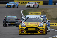 #3 Tom Chilton Team Shredded Wheat Racing with Gallagher Ford Focus RS during BTCC Race 1  as part of the Dunlop MSA British Touring Car Championship - Rockingham 2018 at Rockingham, Corby, Northamptonshire, United Kingdom. August 12 2018. World Copyright Peter Taylor/PSP. Copy of publication required for printed pictures.