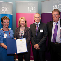 Images from the 2014 GTSC Probabtion Event Pictured are Jackie Brock (Chief Executive of Children First), Tracy Hann (Clarkmannanshire),,Ken Muir (Chief Executive GTCS) and Derek Thompson (Convener GTCS). Thursday 12th June 2014.