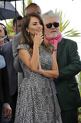 Penelope Cruz Pedro Almodovar attending the Pain and Glory Photocall during the 72nd Cannes Film Festival, Festival des Palais
